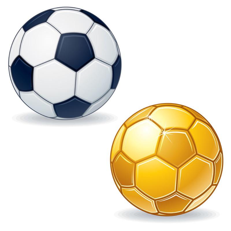 サッカーボール 金